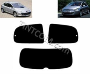 Pre Cut Window Tint - Peugeot 307 (3 doors, hatchback, 2001 - 2007) Solar Gard - Supreme series